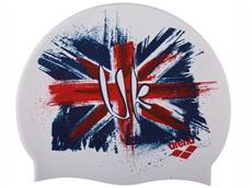 Arena Print 2 Badekappe Flag UK