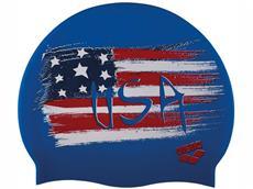 Arena Print 2 Badekappe Flag USA