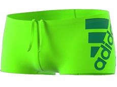 Adidas Clubline Plus Schwimmhose solar green 16 cm, Infinitex+
