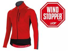 Castelli Trasparente 3 Wind Langarmtrikot - XL red/black
