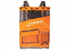 Finis Ultra Mesh Backpack Meshrucksack - orange/grey