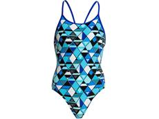 Funkita Blue Steel Girls Badeanzug Diamond Back - 176 (14)