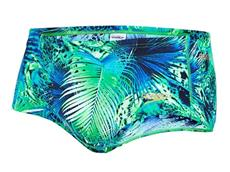 Speedo Junglewave Allover Badehose Brief 14 cm - Endurance10 - 5 green/blue