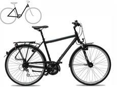 Gudereit LC-30 Edition Einrohr Trekkingrad - 41 matt weiss