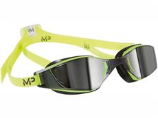 MP Michael Phelps XCEED Mirror Schwimmbrille Aqua Sphere - yellow-black/silver