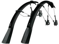 SKS Raceblade Pro XL Stealth Schutzblech-Set matt schwarz