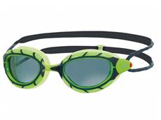 Zoggs Predator Wiro-Frame Polarized Schwimmbrille green-black/polarized smoke