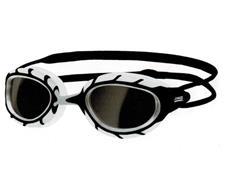 Zoggs Predator Wiro-Frame Schwimmbrille black-white/smoke