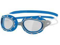Zoggs Predator Wiro-Frame Schwimmbrille silver-blue/clear