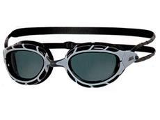 Zoggs Predator Wiro-Frame Schwimmbrille silver-black/smoke
