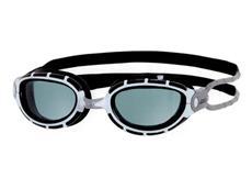 Zoggs Predator Junior Schwimmbrille - white-black/smoke