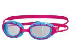 Zoggs Predator Junior Schwimmbrille - light blue-pink/clear