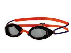 Zoggs Fusion Air Junior Schwimmbrille - black-orange/smoke