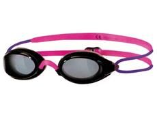 Zoggs Fusion Air Junior Schwimmbrille - black-pink/smoke