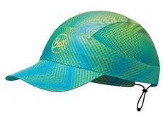 Buff Pack Run Reflective Cap - jam lime
