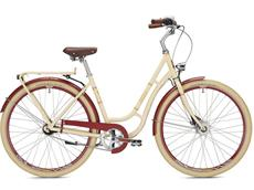 Falter R 4.0 Classic Damen Cityrad - 55 elfenbein/weinrot