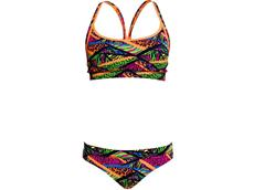 Funkita Jungle Jagger Ladies Schwimmbikini Sports Top + Sports Brief
