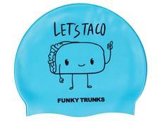 Funky Trunks Let´s Taco Silikon Badekappe