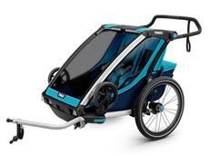 Thule Chariot Cross 2 Kinderanhänger - blue