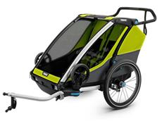 Thule Chariot Cab 2 2018 Kinderanhänger chartreuse