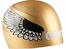 Arena Poolish Moulded Badekappe - gold wings