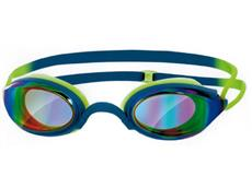 Zoggs Fusion Air Mirror Schwimmbrille blue-green/golden mirror