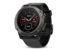 Garmin Fenix 5X GPS Multisportuhr mit Saphirglas grau, Gehäuse 51mm