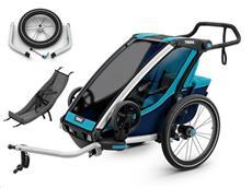 Thule Chariot Cross 1 Set inkl. Jogging Kit und Infant Sling