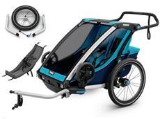 Thule Chariot Cross 2 Set inkl. Jogging Kit und Infant Sling