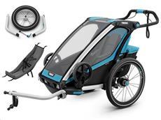 Thule Chariot Sport 1 Set inkl. Jogging Kit und Infant Sling