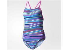 Adidas Graphic Mädchen Badeanzug Thin Straps -  Infinitex+