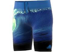 Adidas Parley Jammer Badehose Infinitex+ - 6 shock blue/easy green