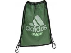 Adidas Swim Mesh Bag Tasche - black/flash green