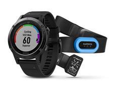 Garmin Fenix 5 GPS Multisportuhr mit Saphirglas schwarz Performer Bundle
