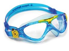 Aqua Sphere Vista Junior Schwimmbrille - aqua-yellow/clear