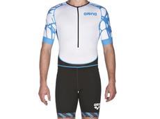 Arena Powerskin ST Aero Men Trisuit Einteiler Kurzarm, Front Zipper