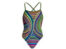 Funkita Tribal Revival Girls Badeanzug Strapped In - 164 (12)