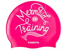 Funkita Mermaid in Training Silikon Badekappe