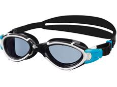 Arena Nimesis Polarized Schwimmbrille black-white/smoke