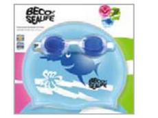 Beco Sealife Swim Set I Kids mit Brille und Badekappe