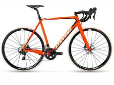 Stevens Super Prestige Disc Cyclocrossrad - 58 fire orange