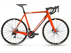 Stevens Super Prestige Disc Di2 Cyclocrossrad - 56 fire orange