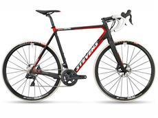 Stevens Super Prestige Disc Di2 Cyclocrossrad - 54 ink black