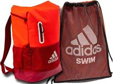 Adidas Swim Rucksack und Swim Mesh Bag Set (freie Farbwahl)