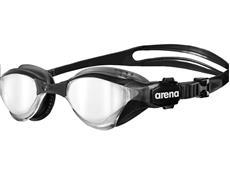 Arena Cobra TRI Mirror Schwimmbrille - black-black/silver