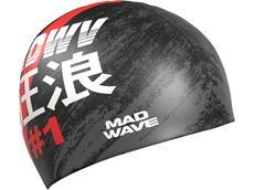 Mad Wave #1 Silikon Badekappe black