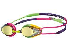 Arena Tracks Mirror Junior Schwimmbrille - fuchsia-green/violet