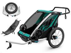 Thule Chariot Lite 2 2018 Set inkl. Jogging Kit und Infant Sling