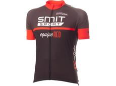 equipeRED Smit Sport Trikot kurzarm grey