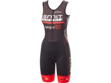 equipeRED Smit Sport Damen Triathlon Body grey